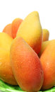 Mangos on a white background Stock Photography