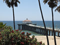 Manhattan Beach la Californie Photographie stock
