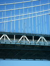 Manhattan Bridge Stock Photo