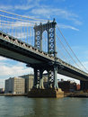 Manhattan bridge, New York Royalty Free Stock Photos
