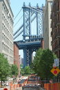Manhattan Bridge, New York City Royalty Free Stock Photography