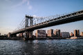 Manhattan bridge and Newyork city
