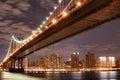 Puente en noche