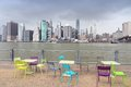 Manhattan from Brooklyn Royalty Free Stock Photo