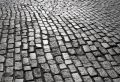Manhattan Cobblestone Street 2 Stock Photography