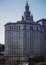 stock image of  Manhattan Municipal Building