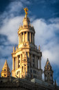 Manhattan municipal building midtown new york city new york state usa Stock Image