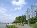Manhattan recreational trail Royalty Free Stock Photo