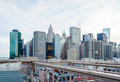 Manhattan skyline Lizenzfreie Stockbilder