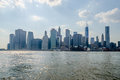 Manhattan skyline Stockbilder