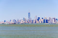 Manhattan skyline new york usa Royalty Free Stock Photography