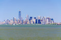 Manhattan skyline new york usa Stock Image