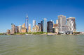 Manhattan skyline new york usa Royalty Free Stock Images