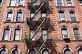 Manhattan tenement Arkivbild