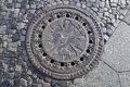 Manhole cover Royalty Free Stock Photo
