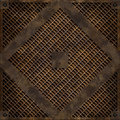 Manhole cover (Seamless texture) Stock Photos