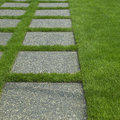 Manicured grass Stock Photos