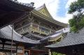 Grounds of Zenkoji Temple, Nagano Japan Royalty Free Stock Photo