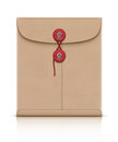 Manila envelope Royalty Free Stock Images