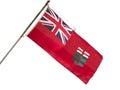 Manitoba provincial Flag Royalty Free Stock Photo