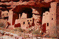 Manitou Cliff Dwellings Stock Photo