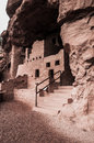 Manitou colorado cliff dwellings located just outside of springs springs ancient native american indian Stock Images