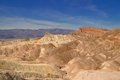 Manly beacon at zabriskie point in death valley national park california Royalty Free Stock Images