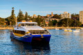 Manly Fast Ferry boat in Sydney Royalty Free Stock Photo