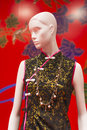 Mannequin Cheongsam Royalty Free Stock Photography