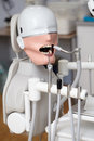 Mannequin or dummy for dentist students training in dental faculties