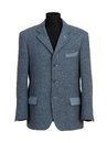 Mannequin in Elegant Gray Business Suit Royalty Free Stock Photo