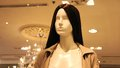 Mannequin in the store human simulation s figure Royalty Free Stock Image