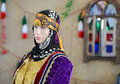 Mannequin in traditional rural persian clothes Stock Photography