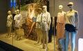 Fashion shop window boutique store