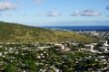 Manoa Valley on the Island of Oahu Royalty Free Stock Photo
