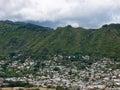 Manoa Valley Royalty Free Stock Photo