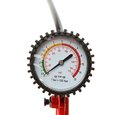 Manometer instrument for the measurement of pressure and vacuum Stock Photos
