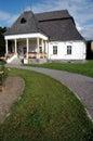 Manor house in Transylvania, Romania Royalty Free Stock Photo