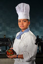 Manpower in hospitality industry a young woman working india is standing at kitchen of a hotel india quality of is important Royalty Free Stock Photos