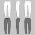 Mans fashion trousers Royalty Free Stock Photo