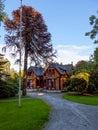 The Mansion Breidablikk in Stavanger, Norway Royalty Free Stock Photo