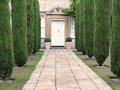 Mansion and Garden Stock Image
