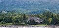 Mansion on Maine Coast Royalty Free Stock Photo