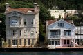 Mansions in Bosphorus Istanbul Royalty Free Stock Photo