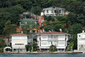 Mansions and Bosporus Royalty Free Stock Photo