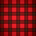 Manta do Scottish do tartan de Wallace Imagens de Stock Royalty Free