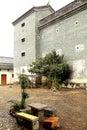 Mantang hakka enclosed house located in shaoguan city shixing county guangdong province china Royalty Free Stock Images