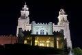 Manti Utah Temple at night Royalty Free Stock Photo