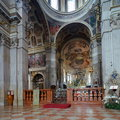 Mantua cathedral the of saint peter in lombardy northern italy goes back to the early christian era partially destroyed by fire in Royalty Free Stock Photo