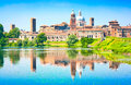 Mantua cityscape in Lombardy, Italy Royalty Free Stock Photo